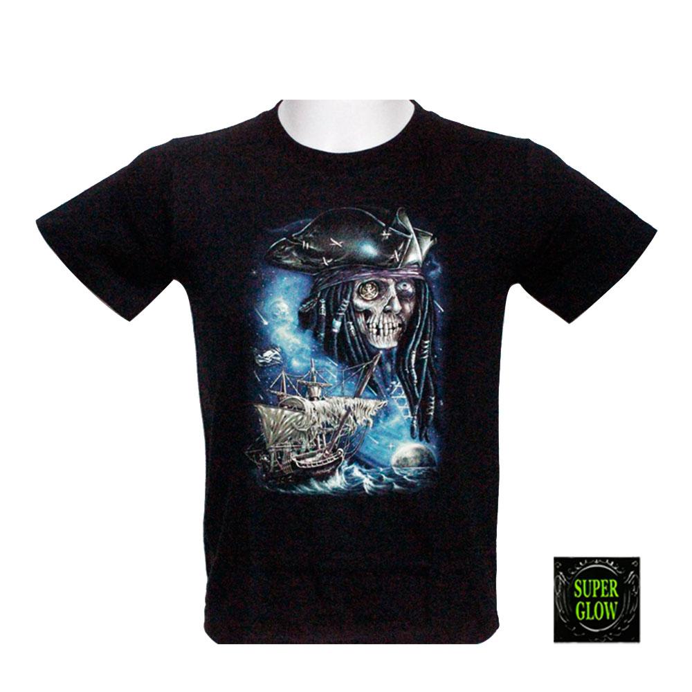 T-shirt Noctilucent Pirate Kid