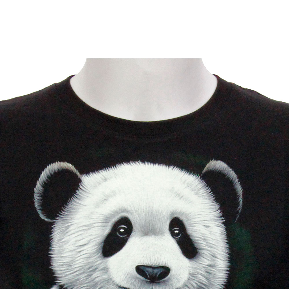 T-shirt Kid Noctilucent panda