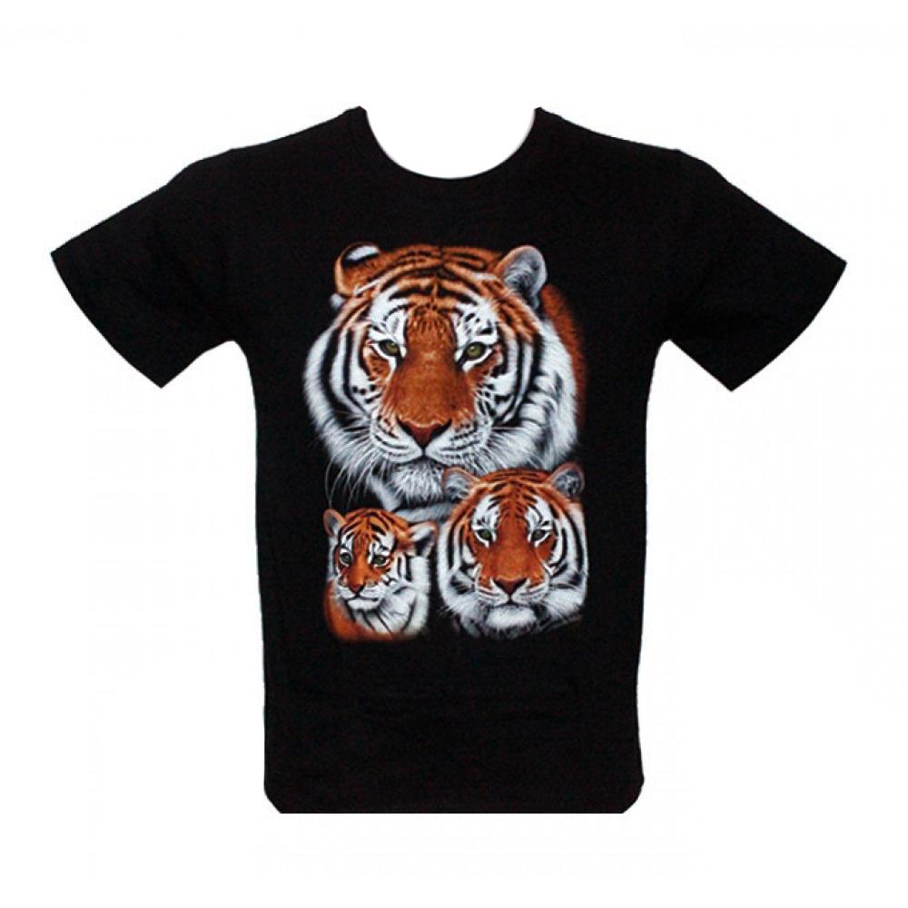 Kid T-shirt Noctilucent Tiger
