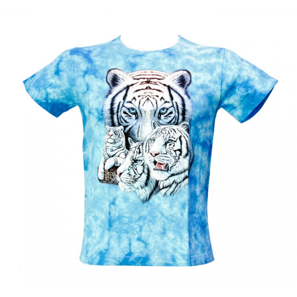 T-shirt Kid Tie-dye Tiger
