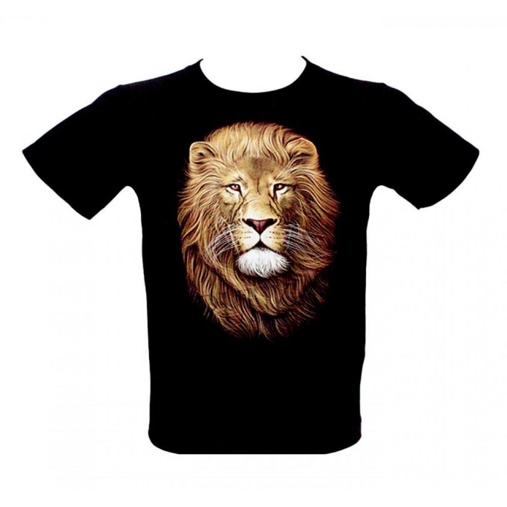 Kid T-shirt Noctilucent Lion