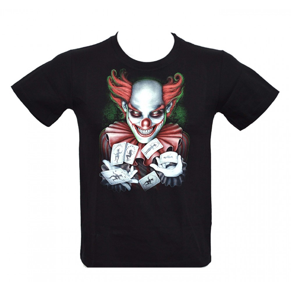 T-shirt Noctilucent Clown Kid