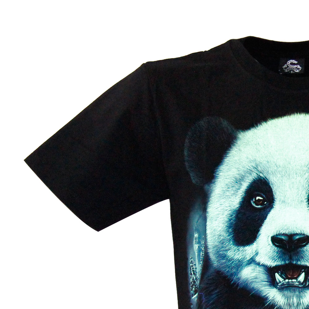 T-shirt Noctilucent Panda