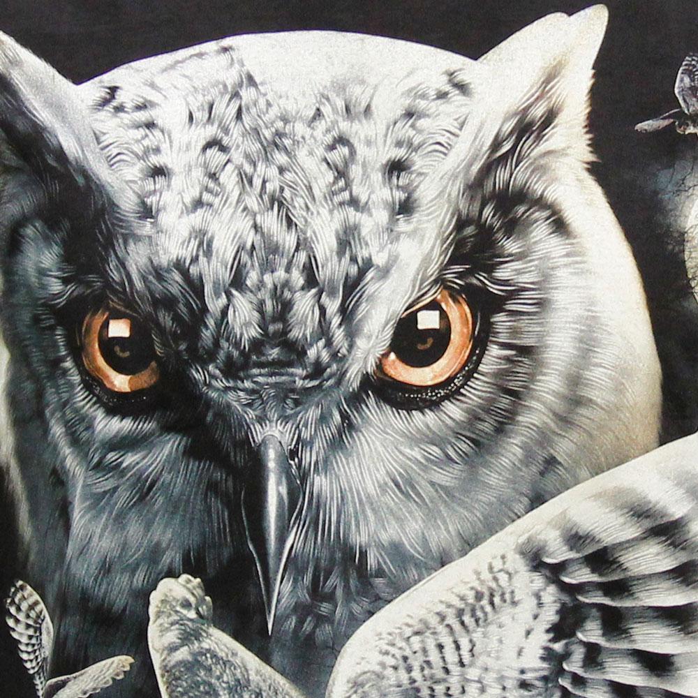 T-shirt Noctilucent Owl
