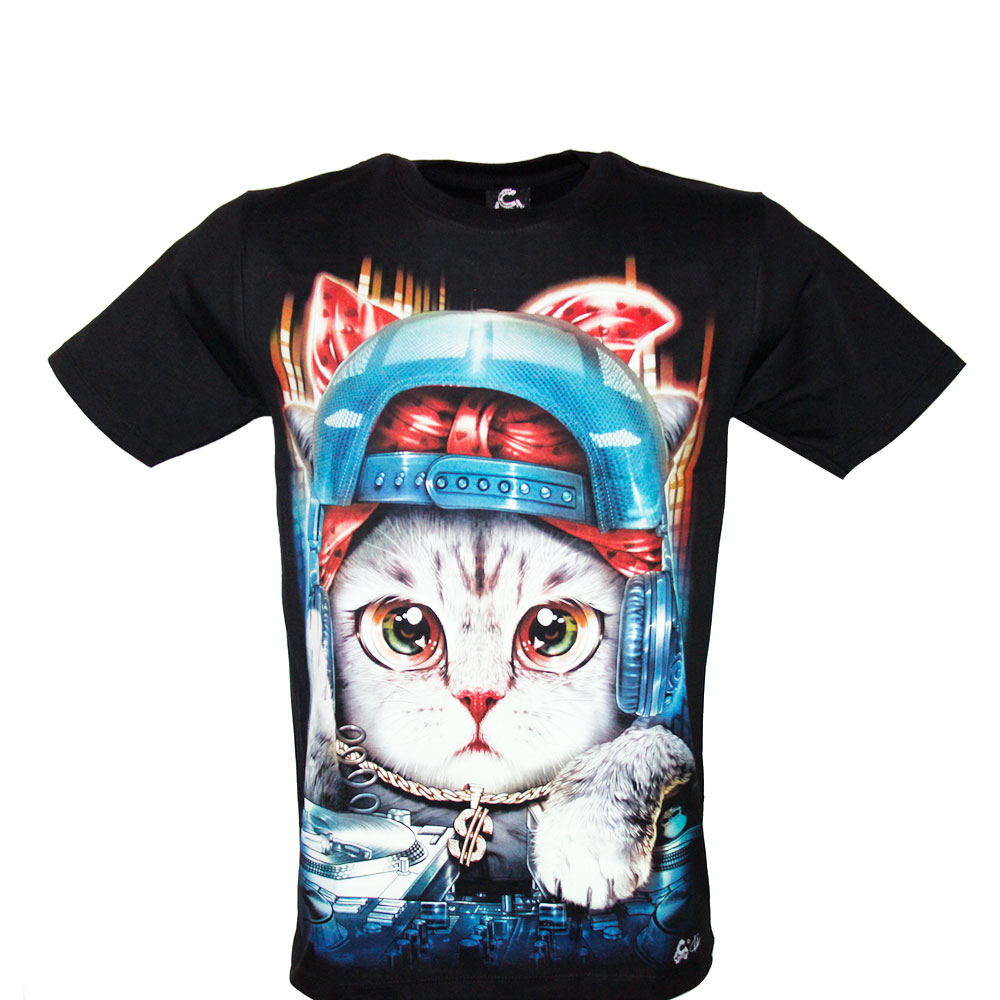 T-shirt Noctilucent Cat