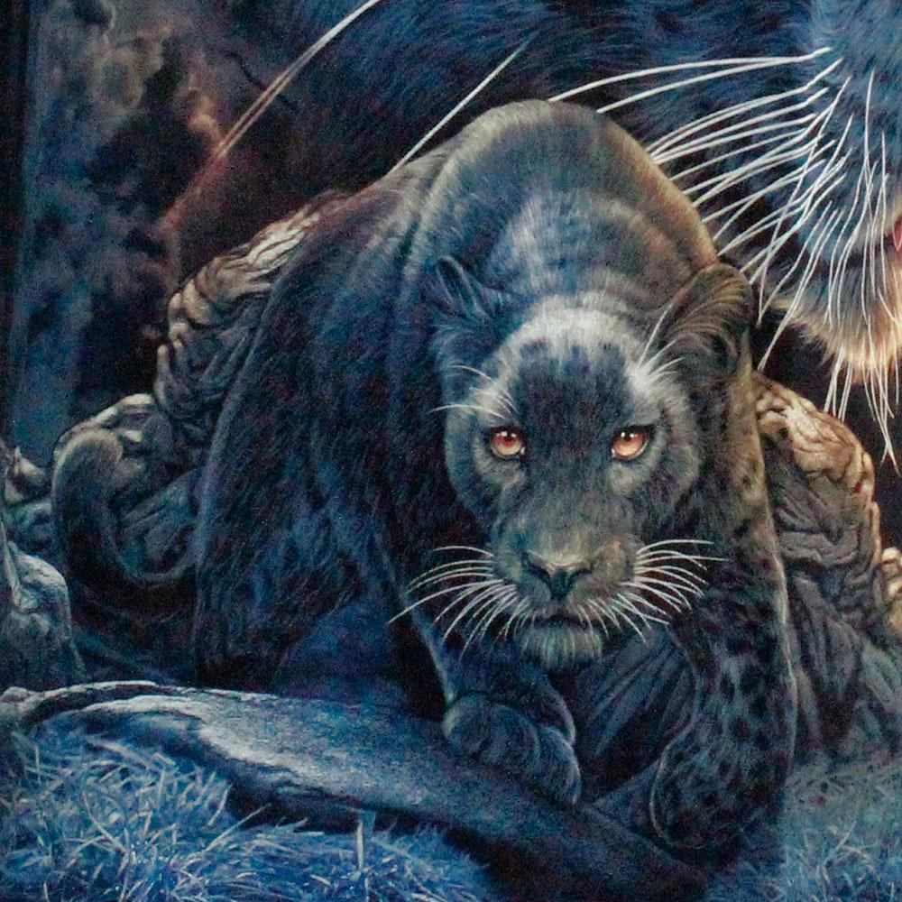 T-shirt Noctilucent Leopard