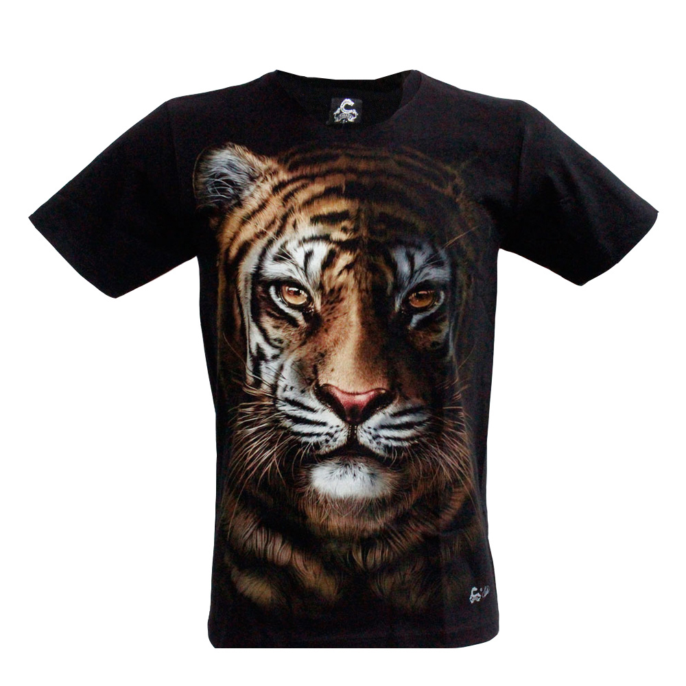 T-shirt Noctilucent Tiger