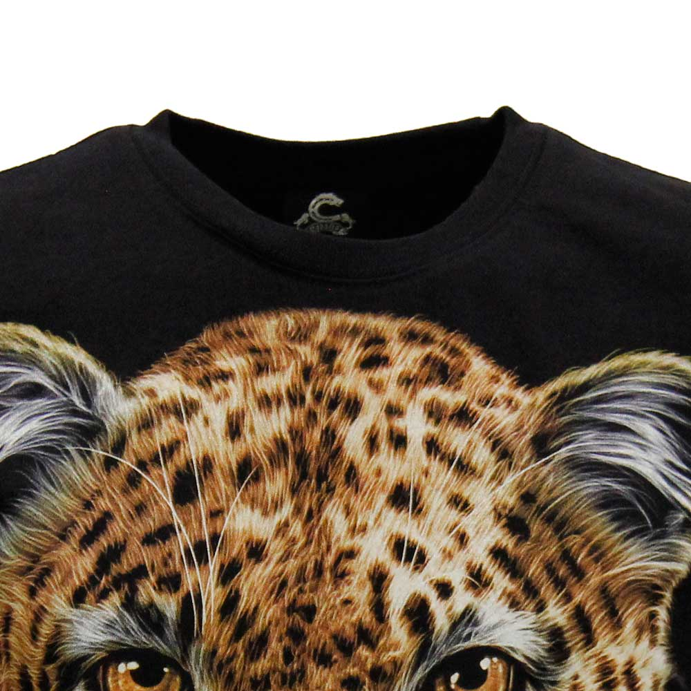 T-shirt Leopard Glow in the Dark