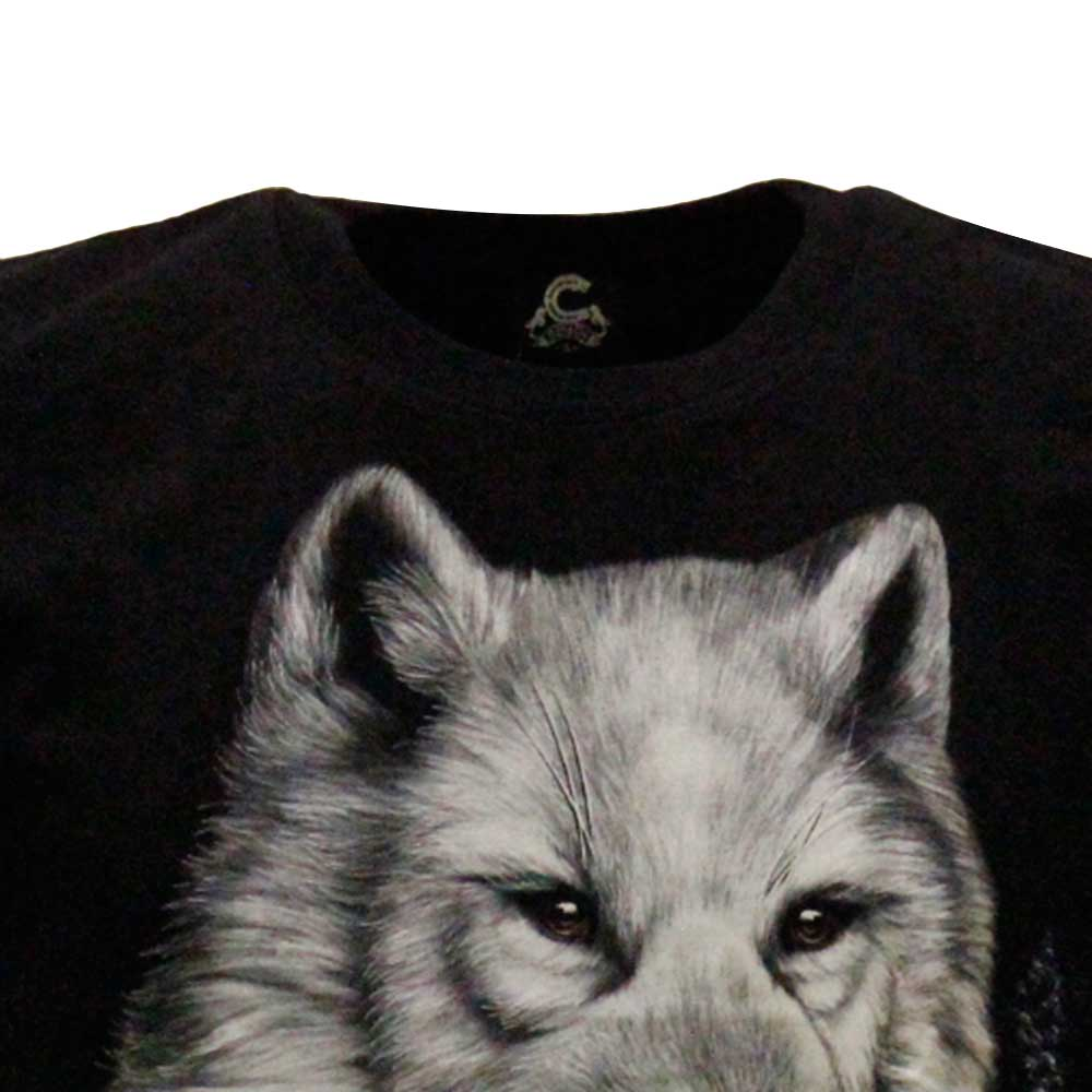 T-shirt Wolf Glow in the Dark