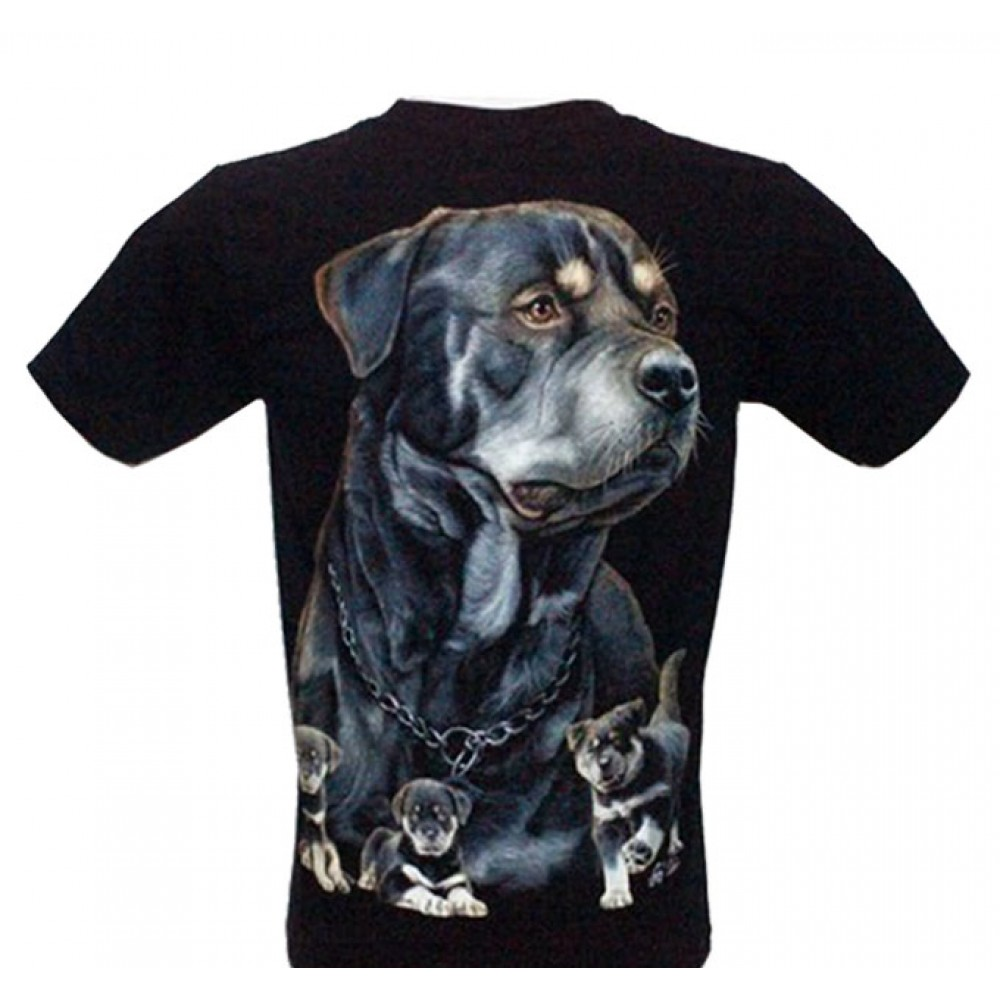 T-shirt Noctilucent Dog