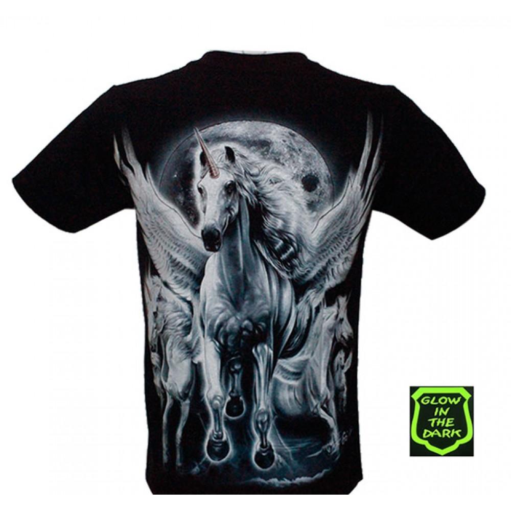 T-shirt Noctilucent Pegasus