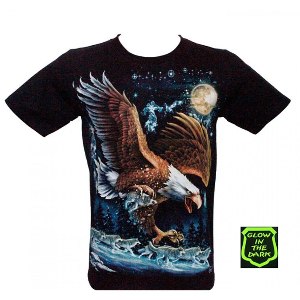 T-shirt Noctilucent Eagle