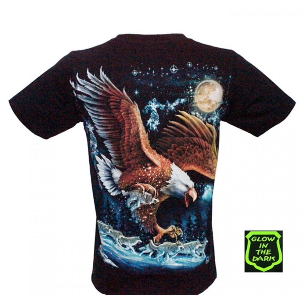 T-shirt Noctilucent Eagle