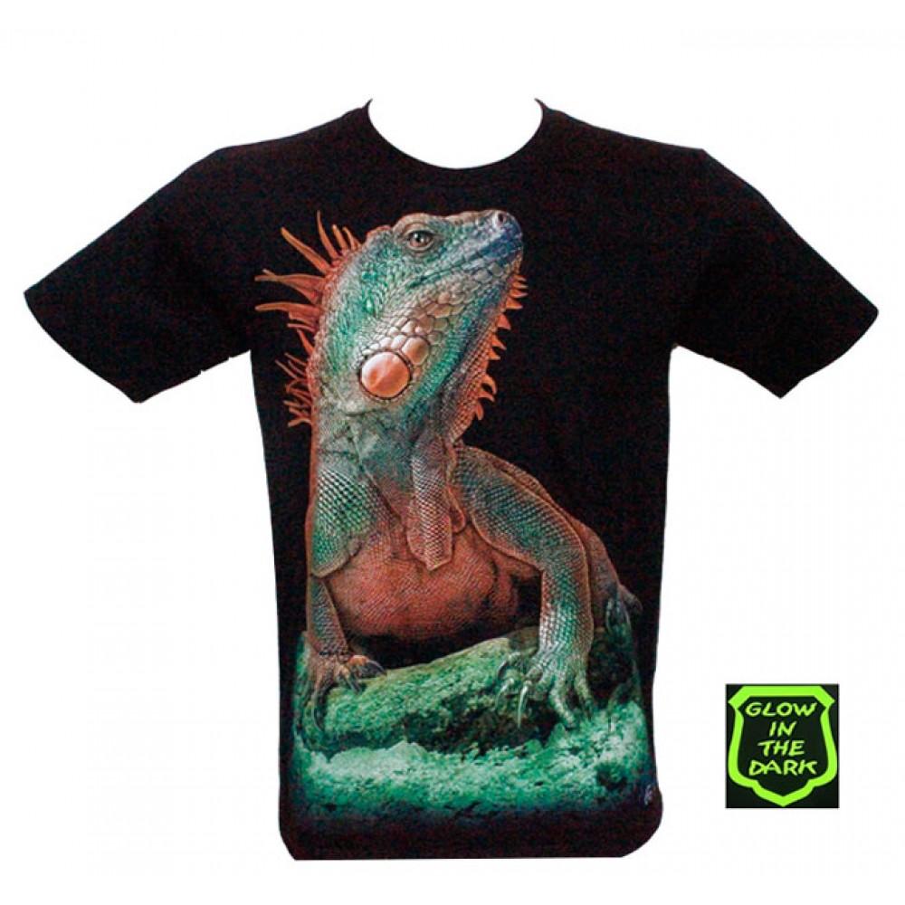 T-shirt Noctilucent Lizard