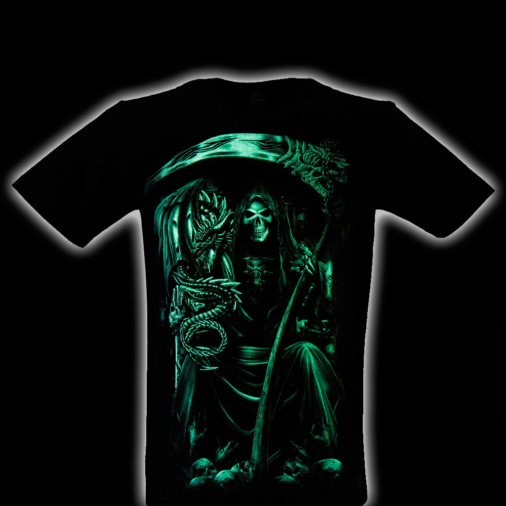 T-shirt Noctilucent Death