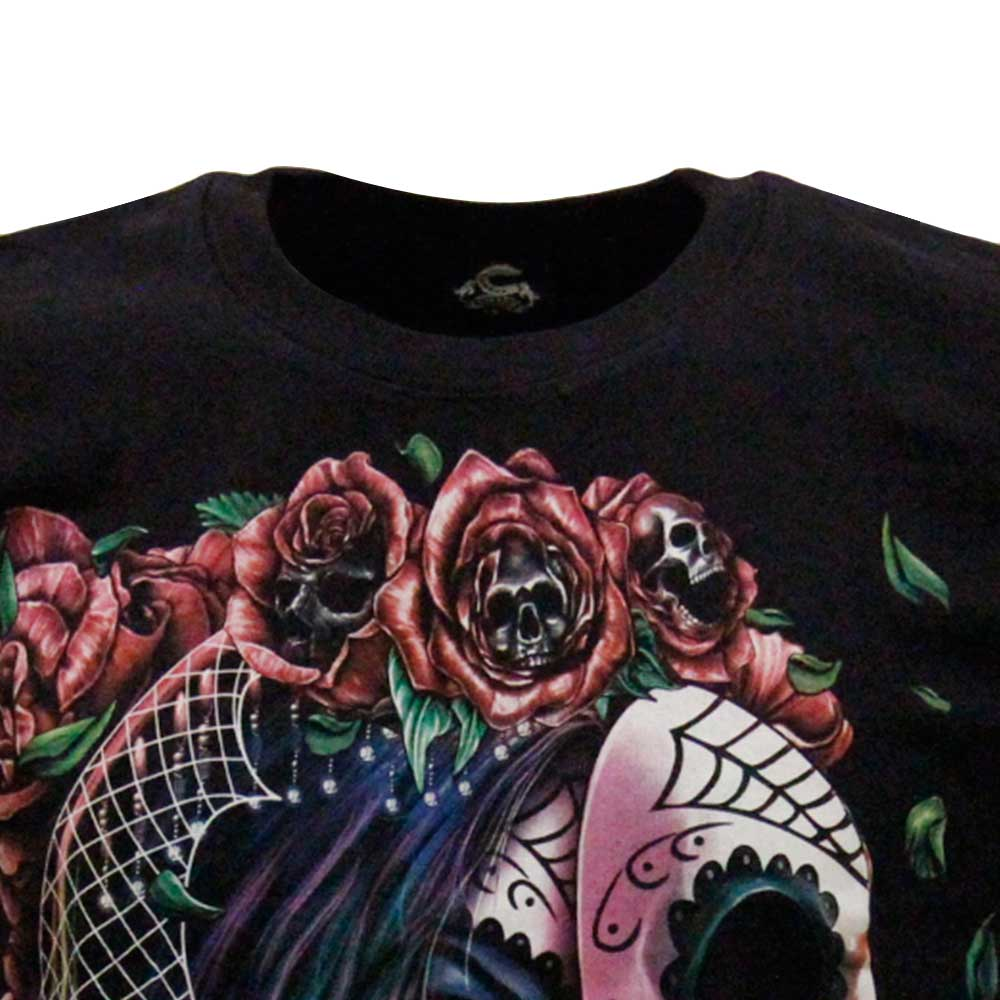 T-shirt Tattooed Girl Glow in the Dark