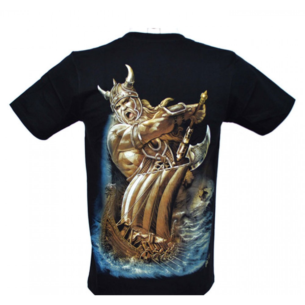 T-shirt Noctilucent Viking