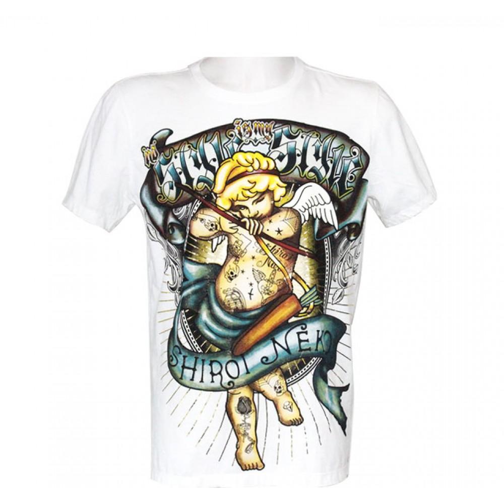 White T-shirt Minute Mirth Cupid