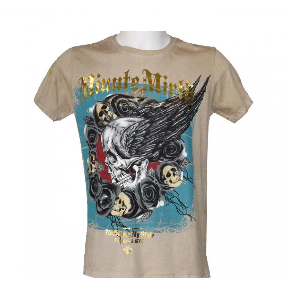 T-shirt Minute Mirth Skull