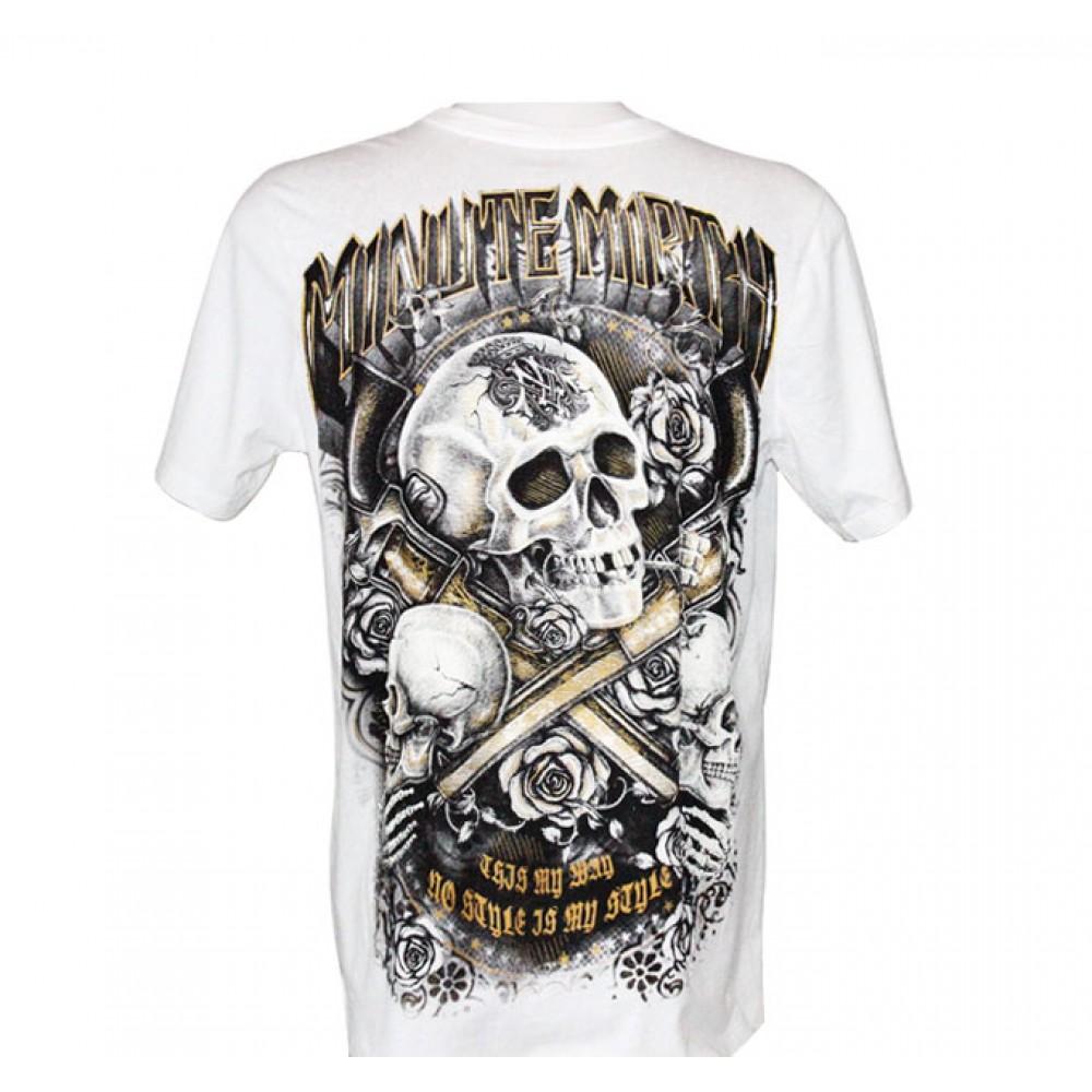 T-shirt Minute Mirth Skeleton