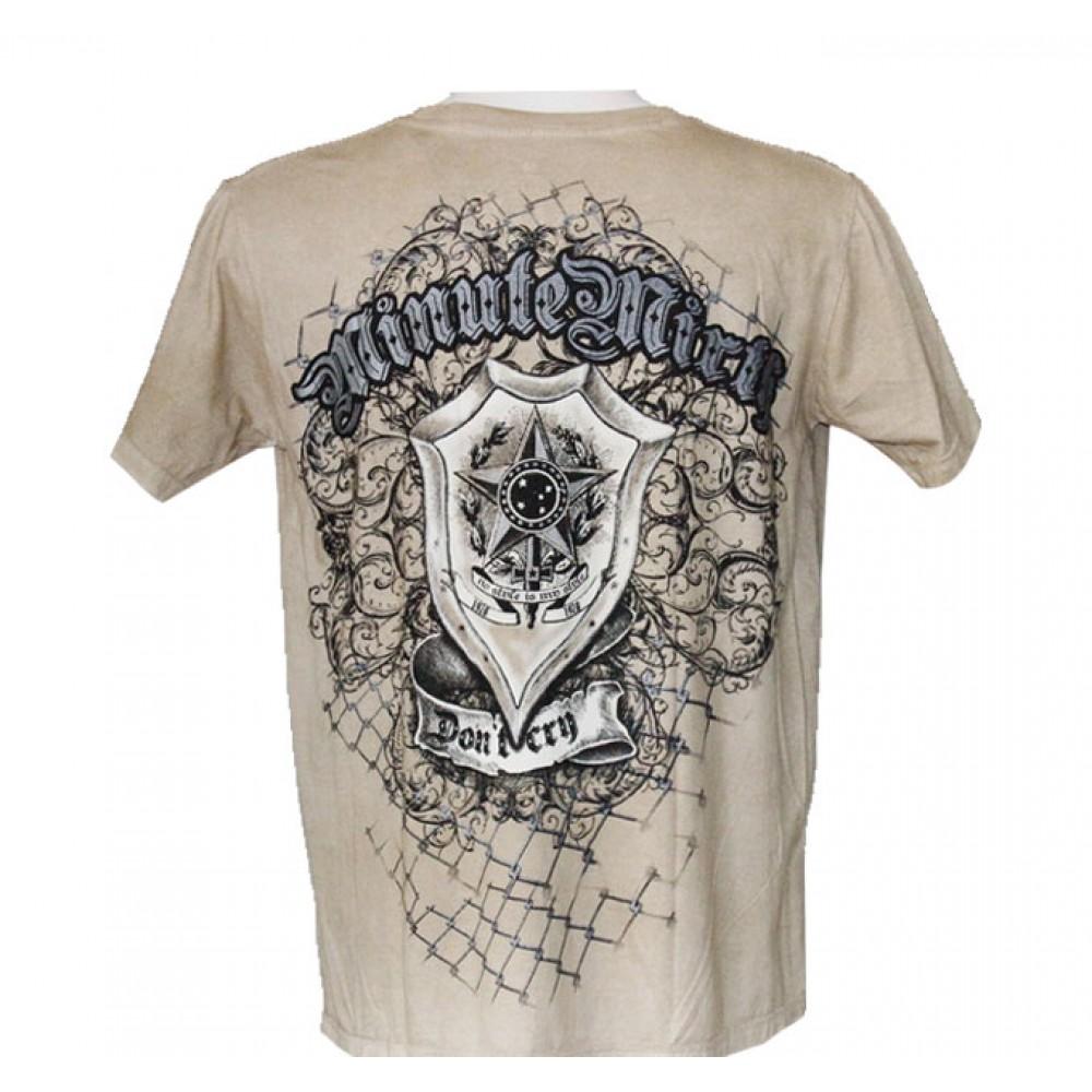 T-shirt Minute Mirth Skull and Shield