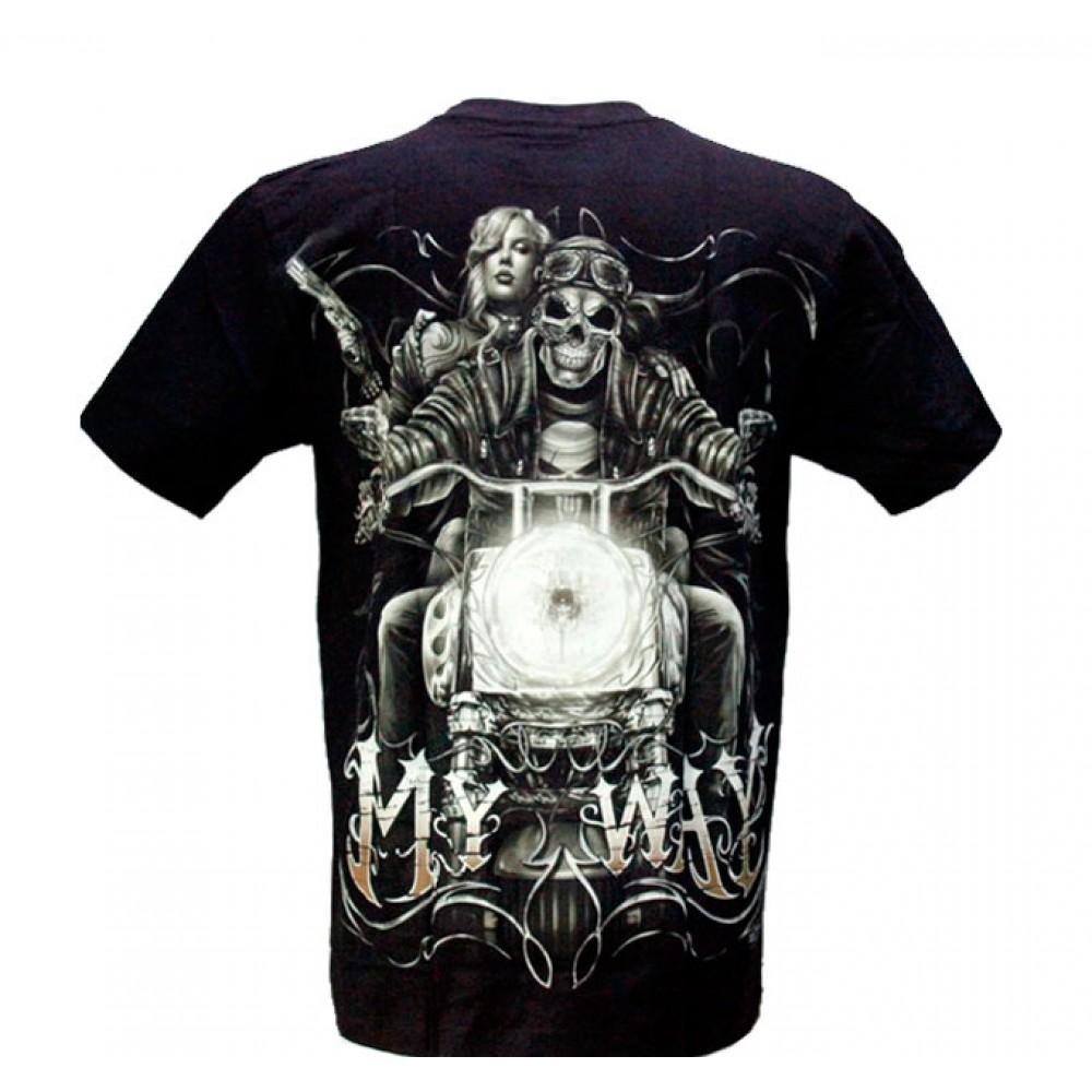 T-shirt Noctilucent My Way