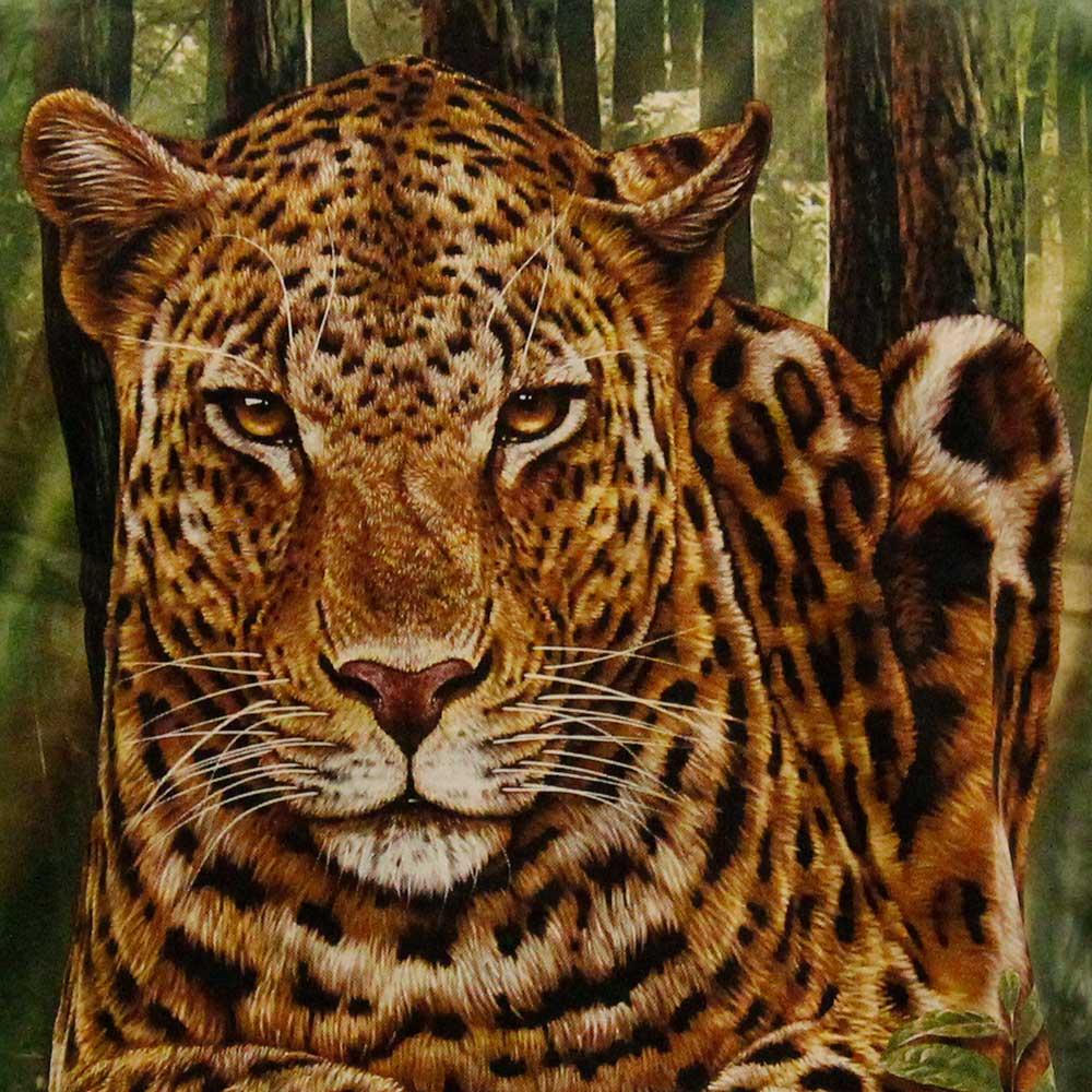 T-shirt Tie-Dye Leopard
