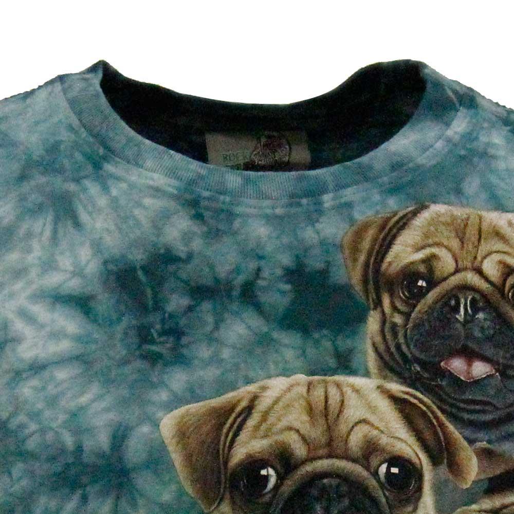 T-shirt Tie-Dye Pug