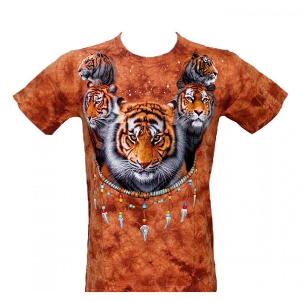 T-shirt Tie-Dye Tiger