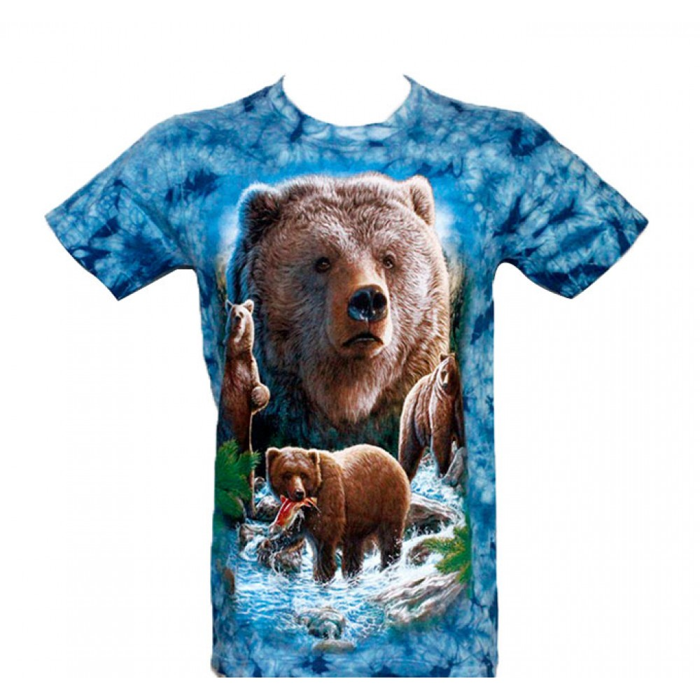 T-shirt Tie-Dye Bear