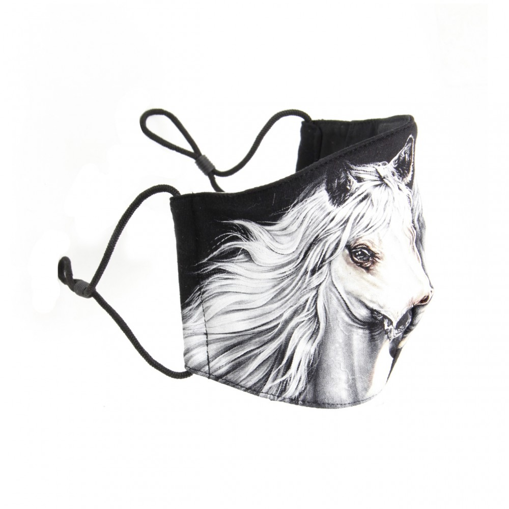 Mask with Horse print