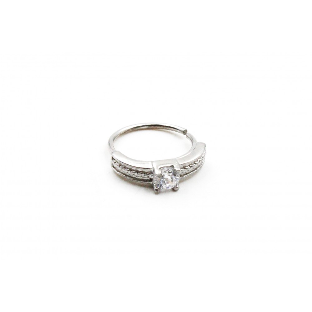 Annealed Ring with Zircon