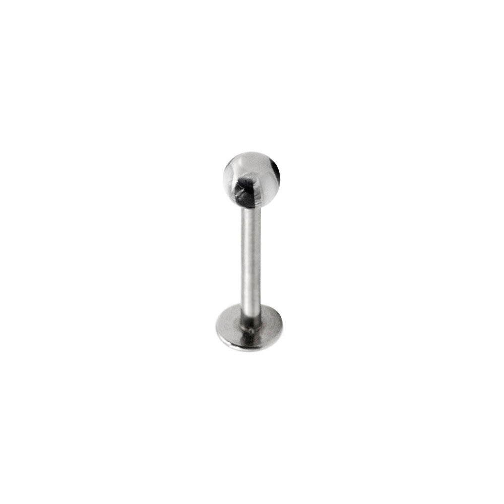 Labret with White and Black Ball