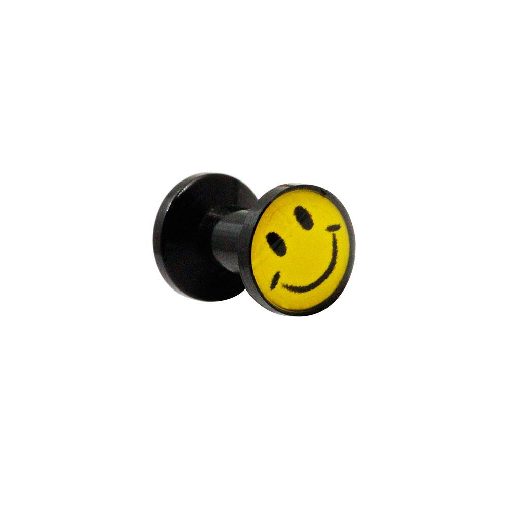 Plug Black with Smile Emoji