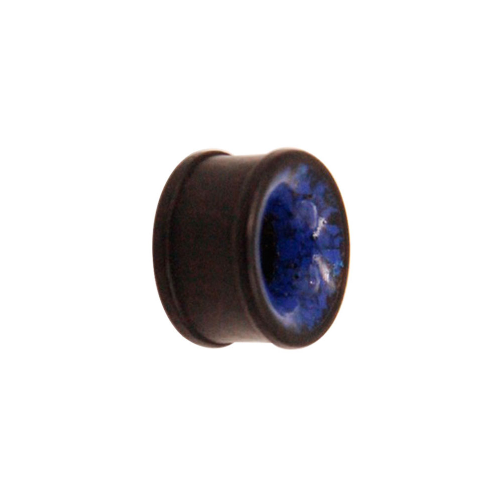 Organic Flesh Wood Tunnel with Blue Coral