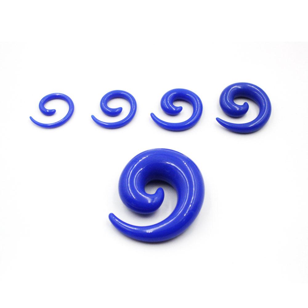 Spiral Noctilucent Monochrome Blue