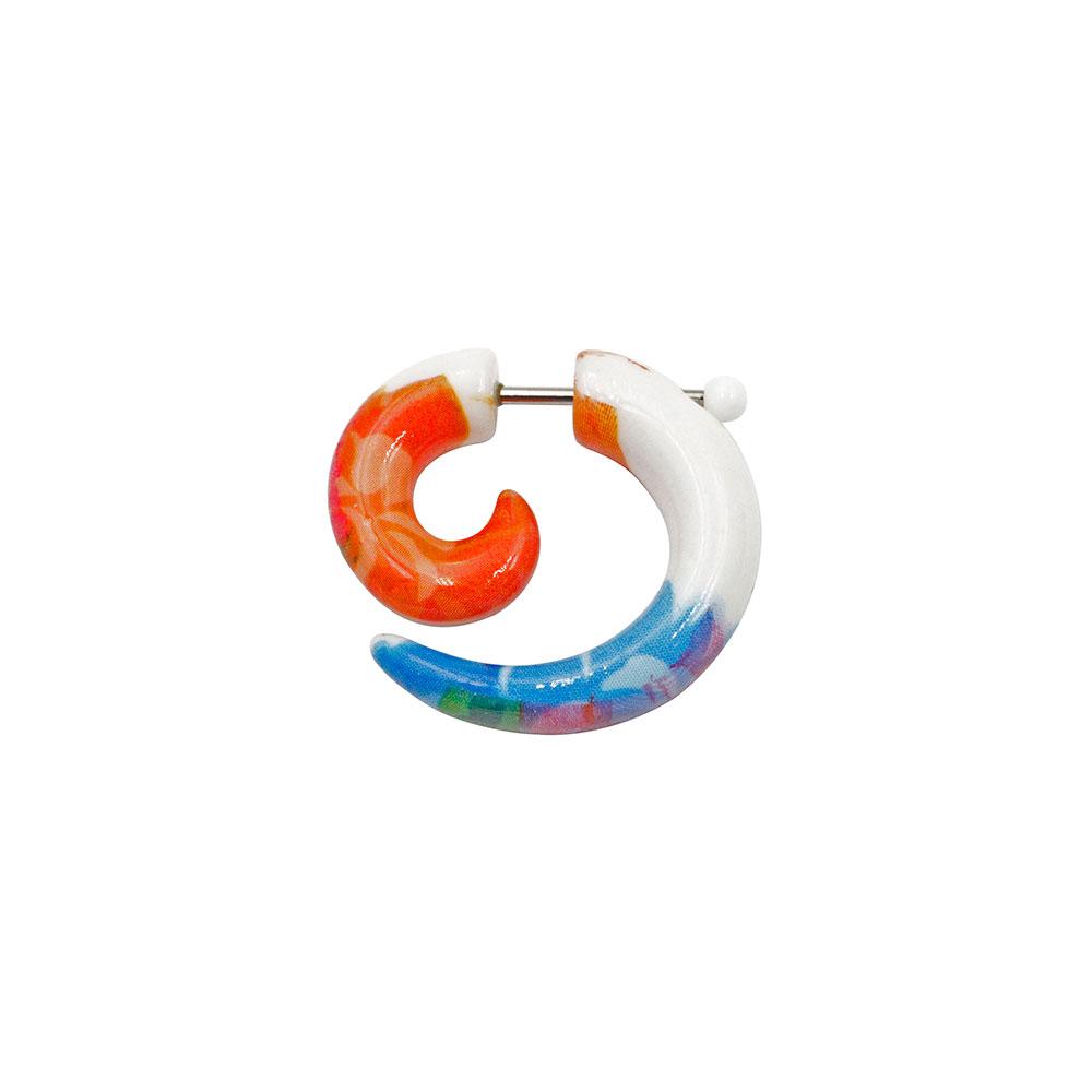 Fake Spiral Colorful