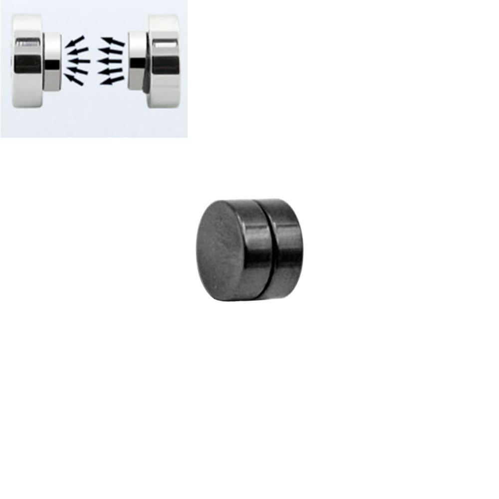 Fake Plug with Magnet Black