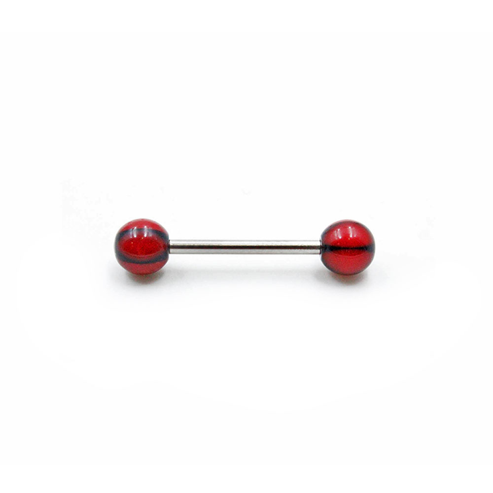 Barbell Red Balls