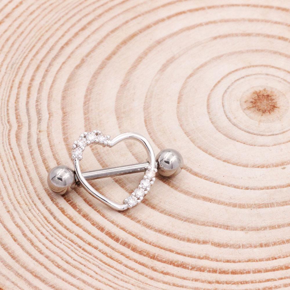Nipple Ring Heart
