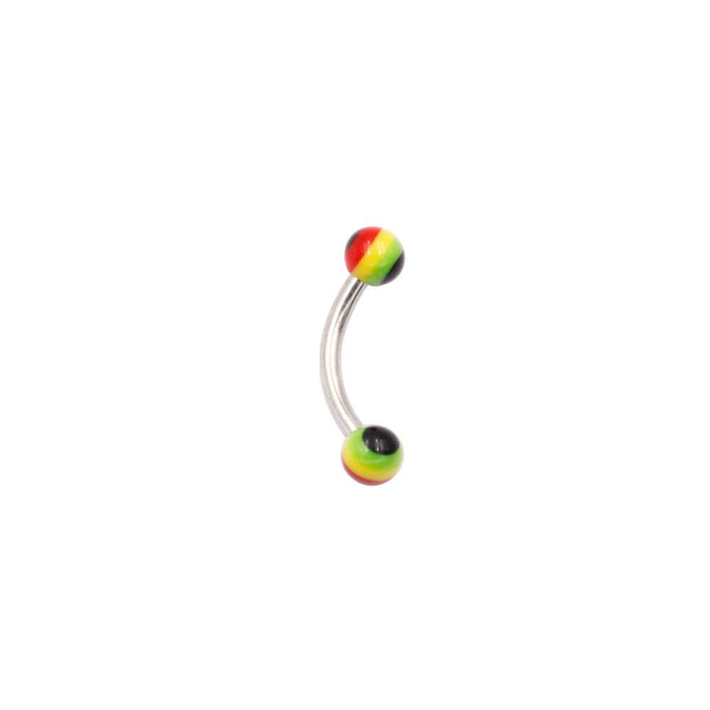 Banana Eyebrow Multi-Color Ball
