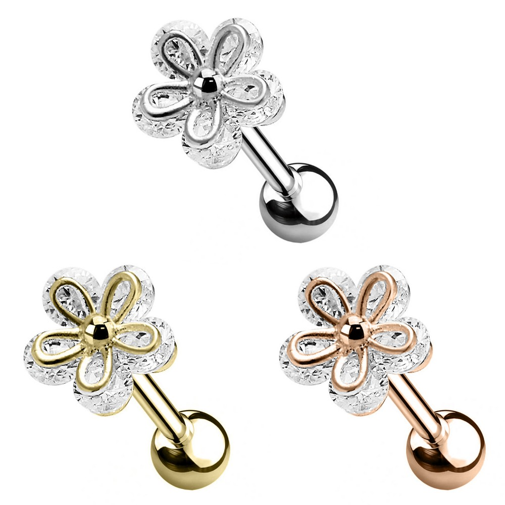 Piercing Cartilage Flower