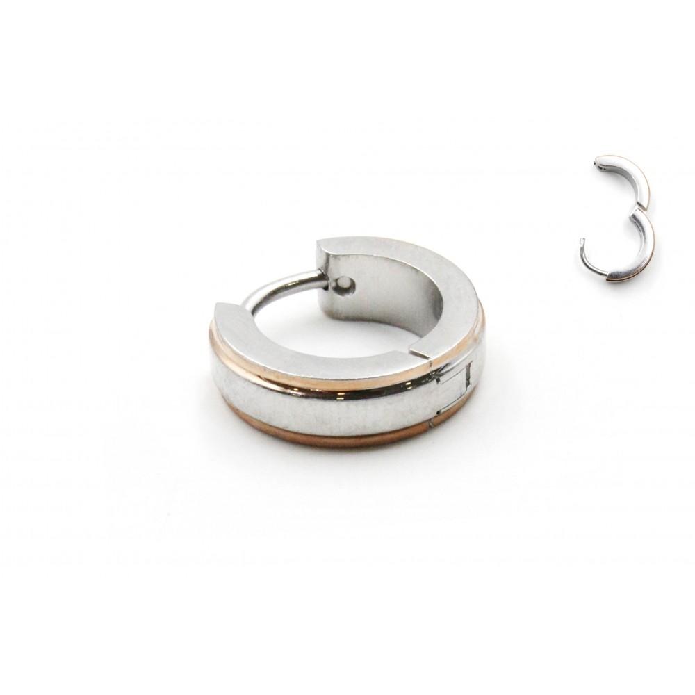 Earring Clicker Double Tones