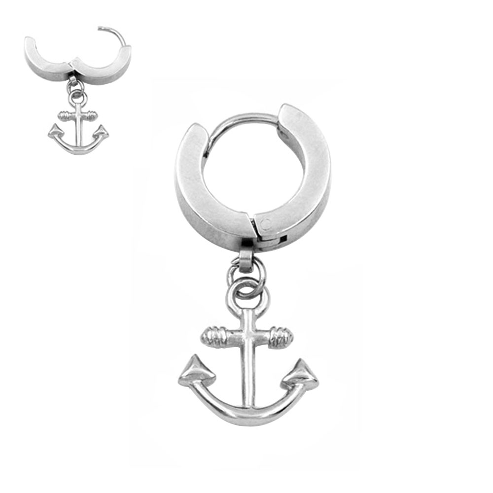 Earring with Pendant Anchor