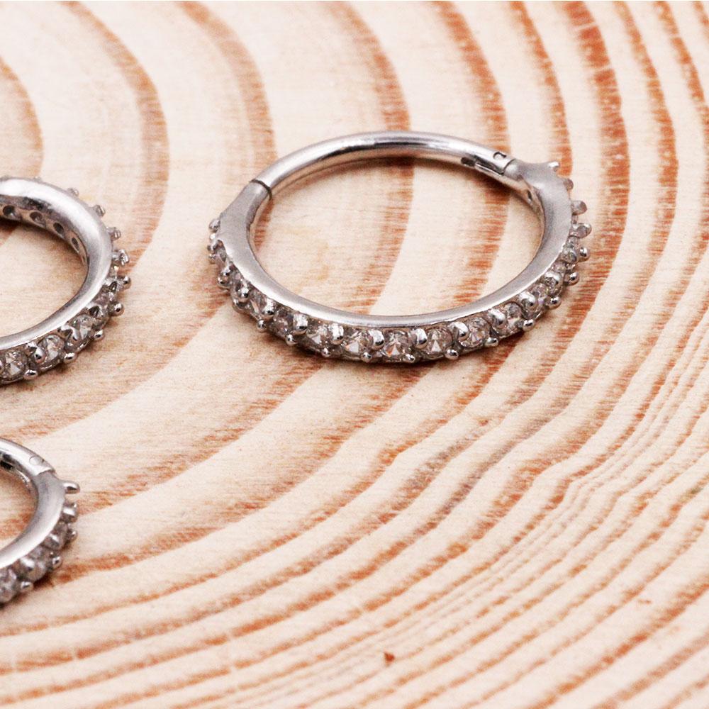 Septum Ring Crystal