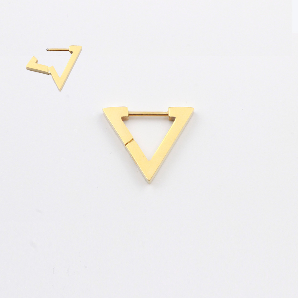 Classic Triangle Earrings
