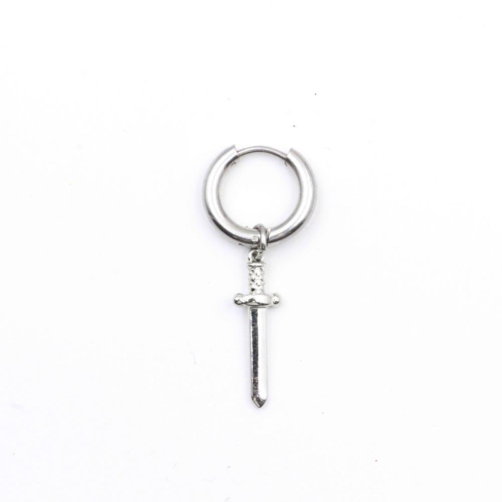 Sword Pendant Earring Ring