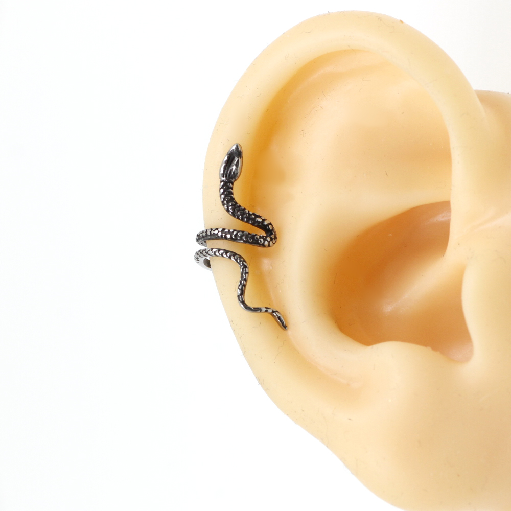 Cuff Earring Snake without Piercing
