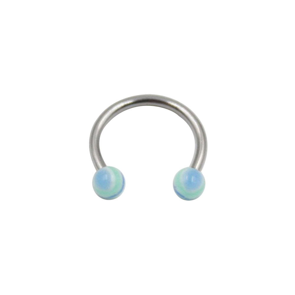 Circular Ring with Small Multicolor Balls