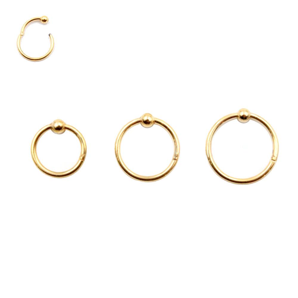 Ring with Hinge Segment Gold